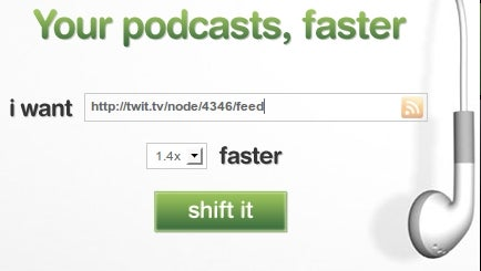 Podshifter Speeds Up Talk-Heavy Podcasts for Speedy Listening