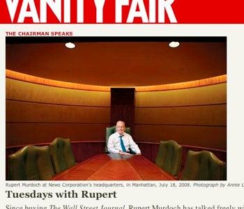 Softer Murdoch Eyes Times