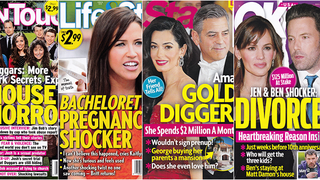 This Week In Tabloids: No One Can Make Up Good Lies About Amal Clooney