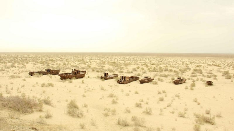 Ghostly Ship Graveyards from Around the World