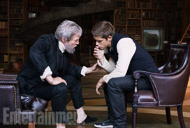First official look at the movie adaptation of The Giver