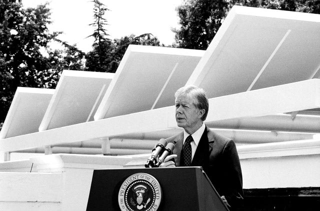 The sad fate of Jimmy Carter's solar panels