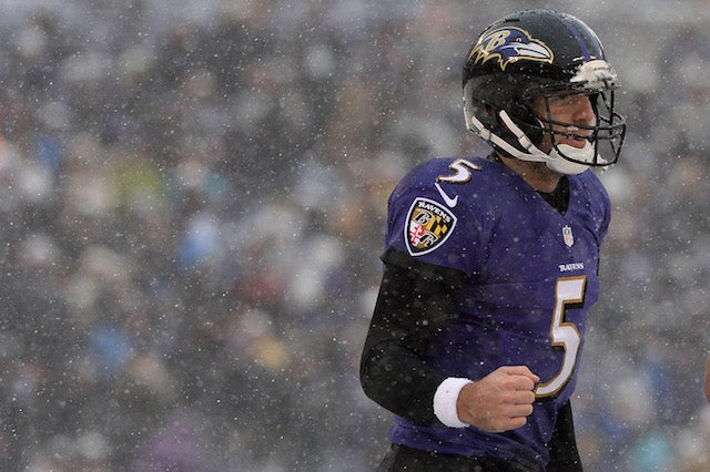 Joe Flacco Bought A Mega Millions Ticket At 7-11