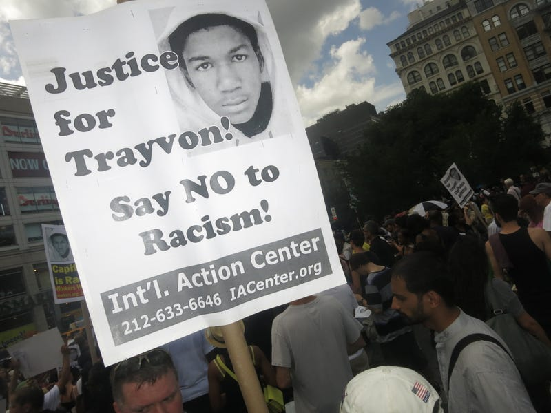 Trayvon Martin Supporters In Union Square