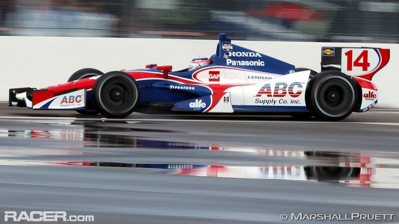 Takuma Sato Rocks St. Pete IndyCar Qualifying
