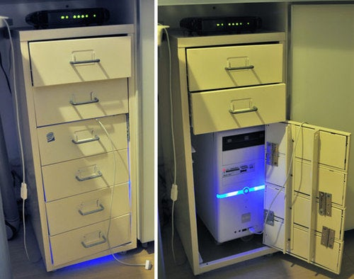 Create a DIY CPU Housing with an IKEA Helmer Filing Cabinet