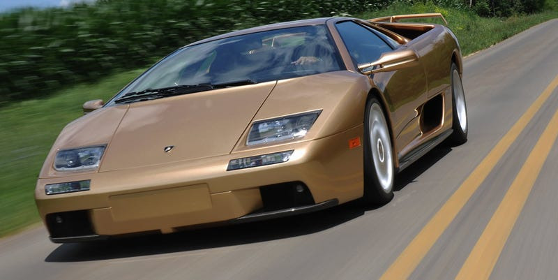 Driving A Poster Car: The Lamborghini Diablo VT 6.0 SE