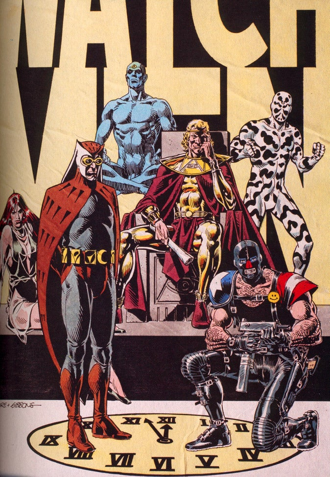 What Were Alan And Dave Thinking When They Created Watchmen?