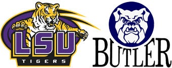 NCAA First Round: (8) LSU vs. (9) Butler