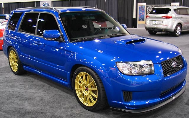 Everything i need to convert my forester xt to an sti 6mt