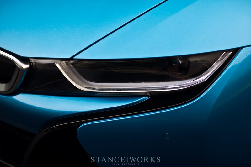 Beating everyone to the punch, Stance Works shoots a US i8