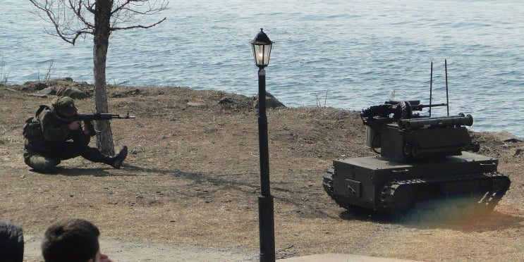 Russia's Military Is Getting Killer Wall-E Robot Soldiers in 2018