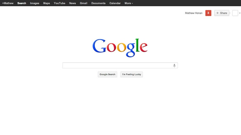 How To Trash That Annoying Avatar on Google's New Home Page