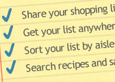 ZipList Is an Impressive Grocery List Tool with Coordinated Shopping, Anywhere Access