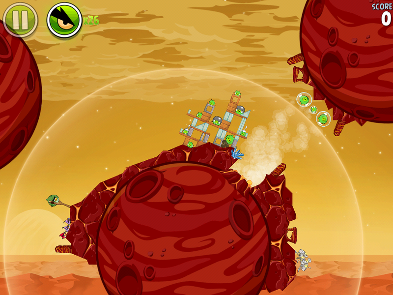 Angry Birds Space's Curiosity-Themed Update Pig-Jacks the Mars Rover