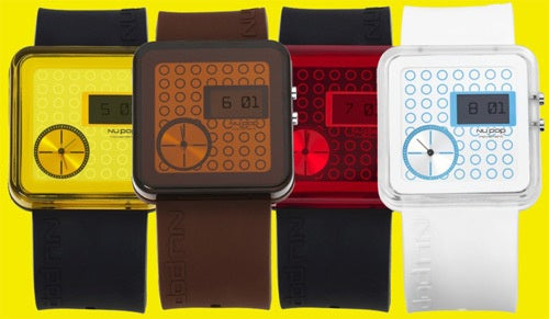 Nu Pop Watches Make Being Hip Almost Worth the Inconvenience