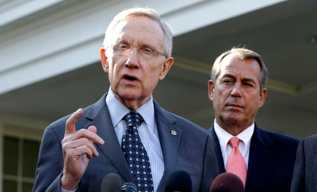 Congress Passes Fiscal Cliff Deal, But Not Before John Boehner Told Harry Reid to Go Fuck Himself