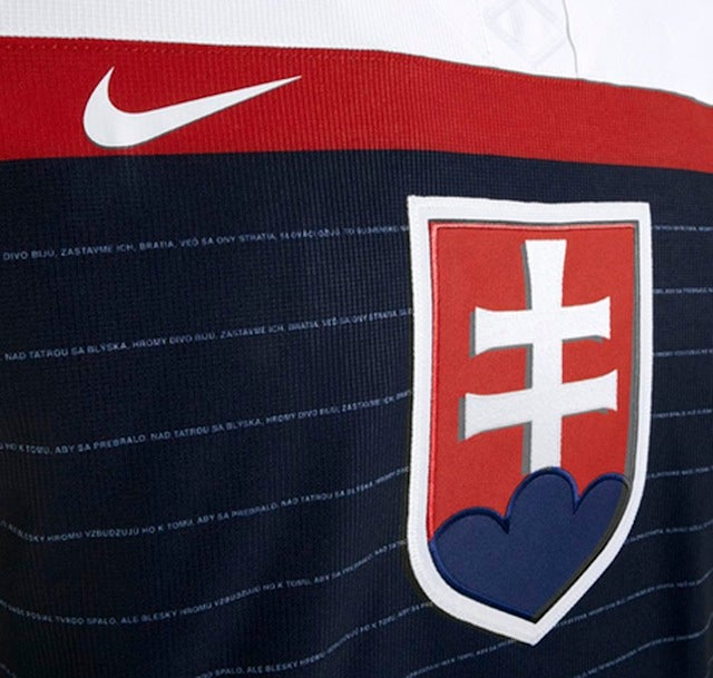 We Need To Steal This Idea From Slovakia's Olympic Hockey Jerseys