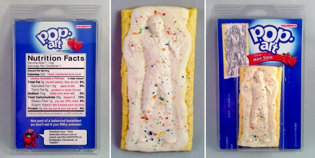 I Wish These Frozen Han Solo Pop-Tarts Were Actually Edible