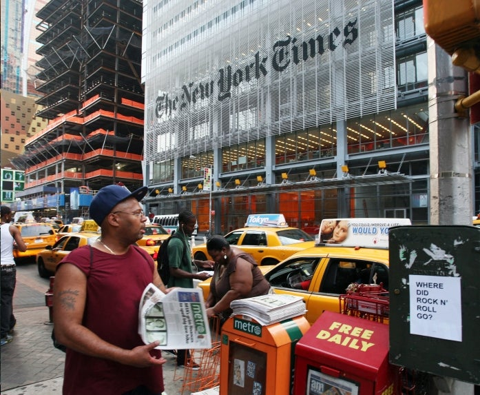 The New York Times' Columnist Problem