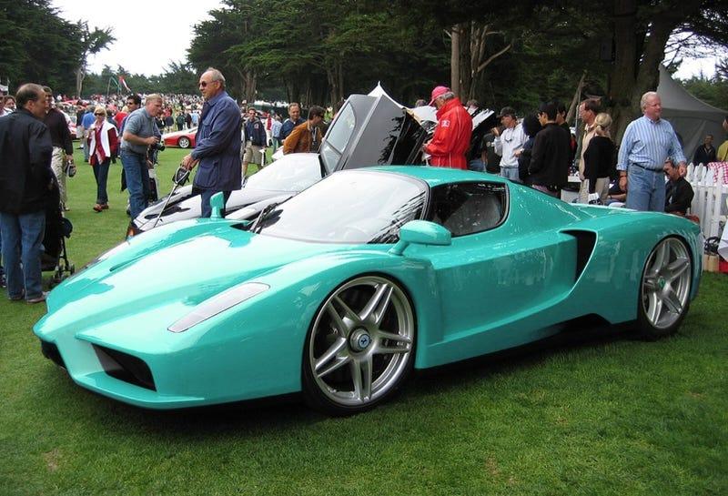 Is This The World's Fugliest Ferrari Enzo?