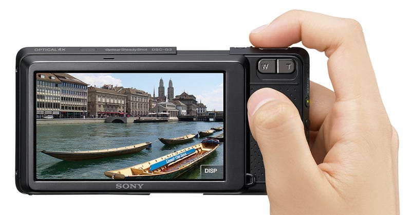 Sony Cybershot G3: World's First Camera You Can Surf the Web On