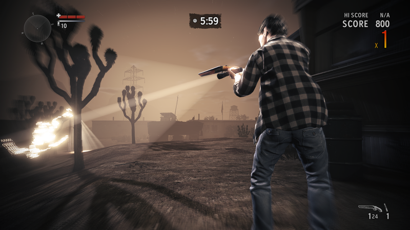 Alan Wake's American Nightmare Takes a Trip to the Desert in These New Screens