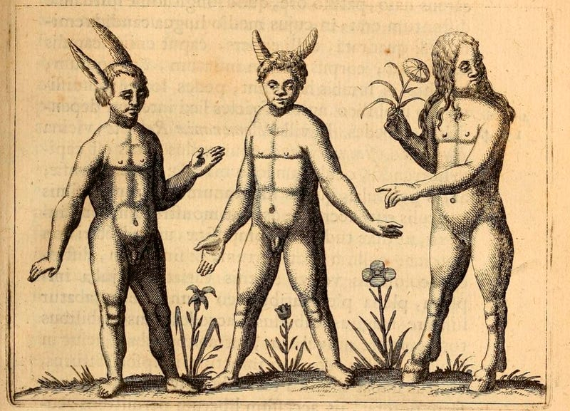The Most Grotesque Humanoid Monsters of the Early Modern Age