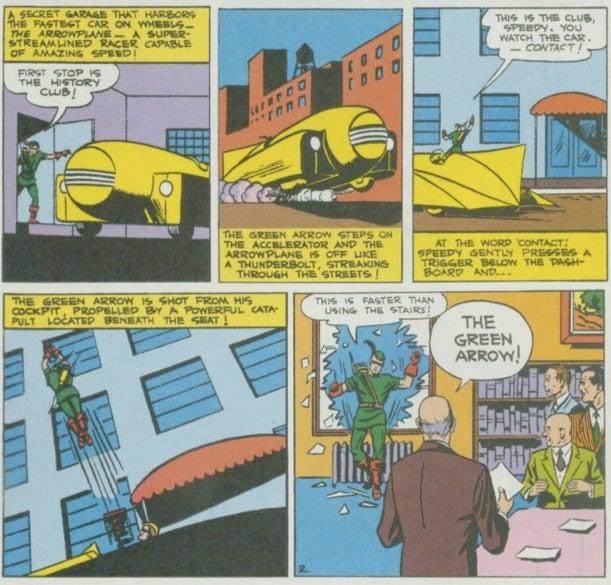 The weirdest superhero vehicles (that aren't the Batmobile)
