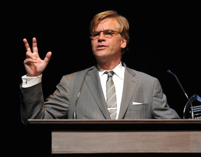 Aaron Sorkin Will Soon Be Teaching Us About the News