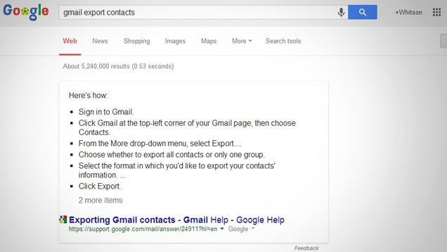Google Adds Step-By-Step Instructions to Search Results