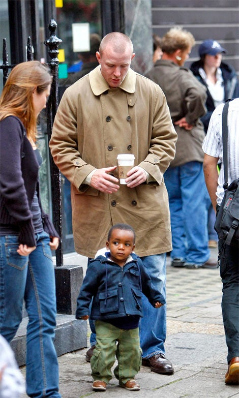 Guy Ritchie's Haircut (Nay) & Adopted Son (Yea)