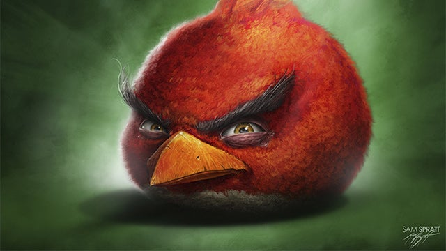Hyper-Realistic Angry Birds Look Ready For Murder