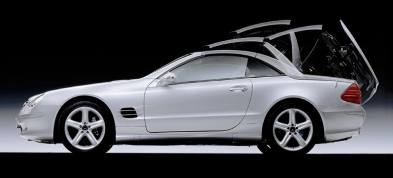 Is The Next Mercedes SL Losing Its Folding Hardtop?