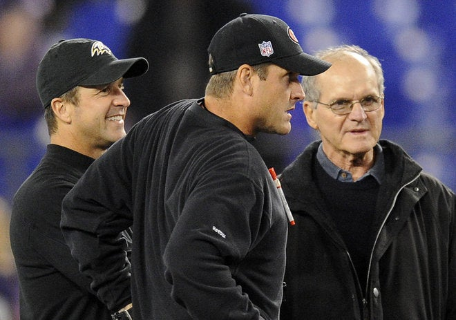 "Jack Harbaugh On His Sons: ""They Have No Weaknesses. They're Just Like Their Mother. They're Stealth."""
