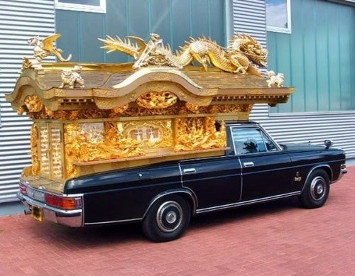 Japanese Hearses Are Quite Fascinating