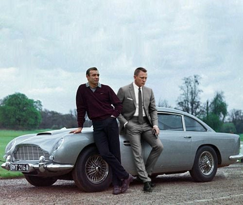 The Aston Martin DB5 and James Bond Are Killing Each Other