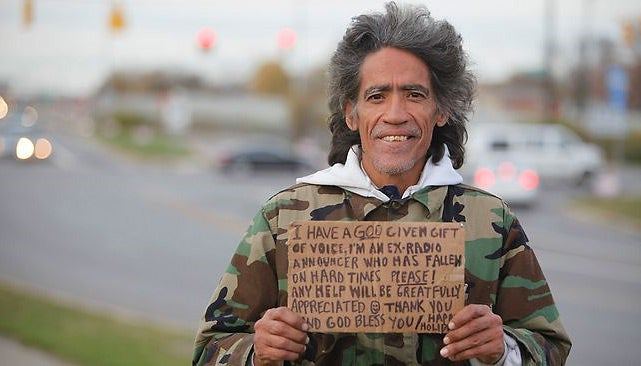 Golden-Voiced Homeless Man Ted Williams Already Picked Up By Police