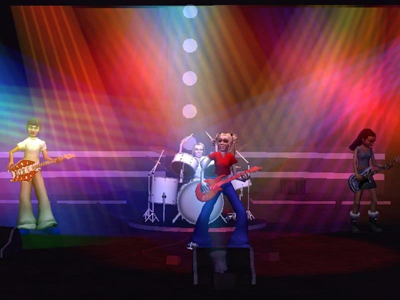 Popstar Guitar Wii Controller & Screens