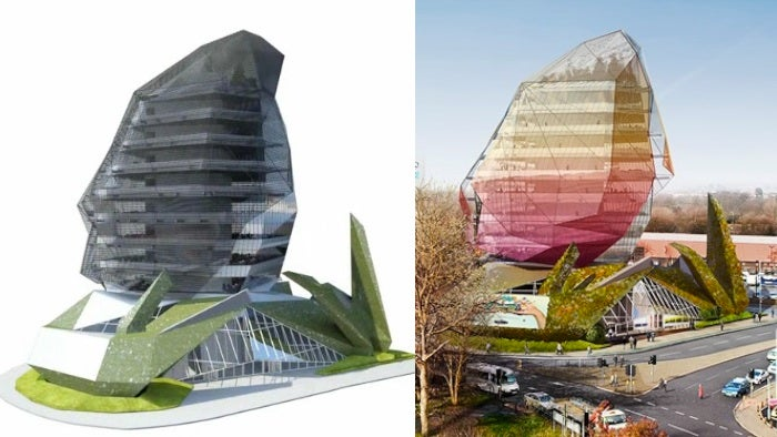 8 glorious buildings shaped like squids and octopodes