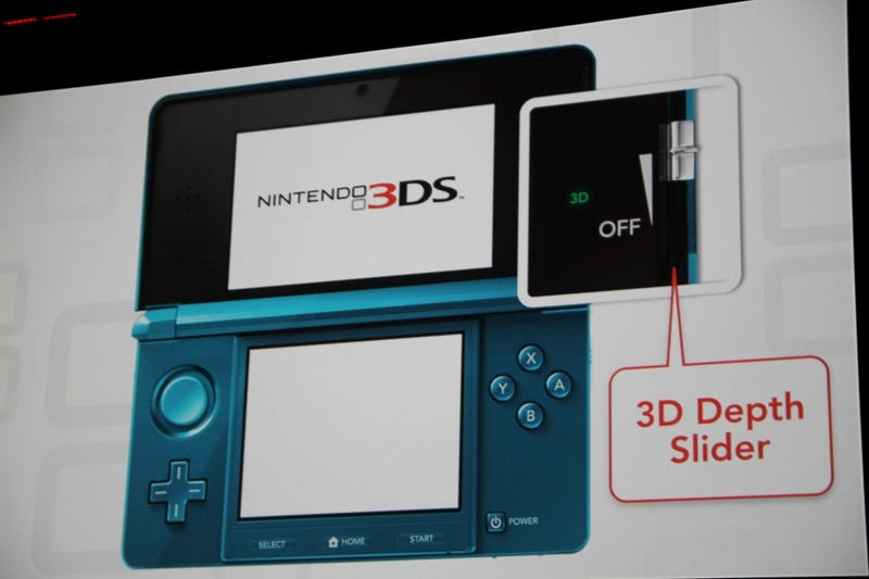 Your First Look At The Nintendo 3DS