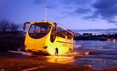 Meet Sinky, The Amphibious British Bus Of Your Dreams