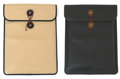 Leather Manila Macbook Air Sleeve Resurrects Old Joke In Style