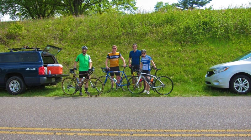 Across The Blue Ridge Mountains By Bike And Van