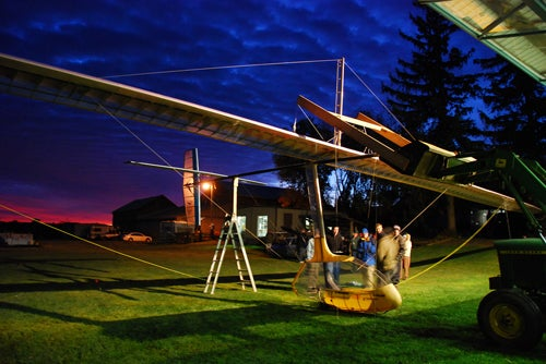 First Human-Powered, Wing-Flapping Aircraft Successfully Flown