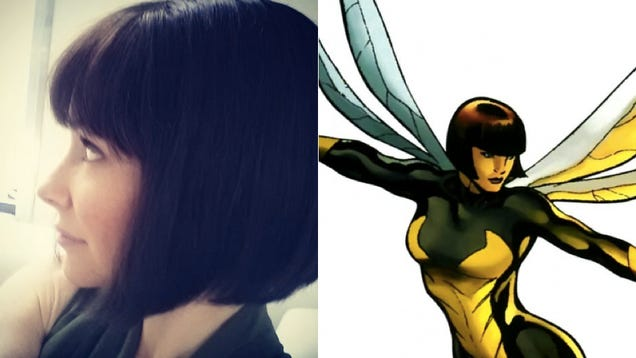 Evangeline Lilly's Hairdo For Ant-Man Is So Perfect For Wasp It Hurts