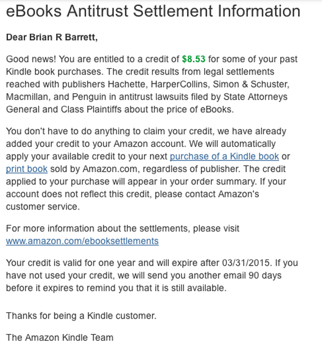 You Might Have Free Amazon Money Waiting in Your Inbox