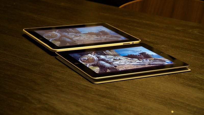 iPad 2 vs. iPad Viewing Angle