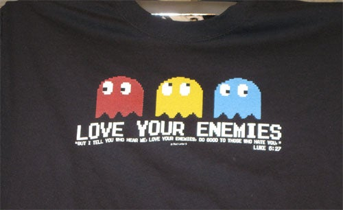 Pac-Man T-Shirt Spreads The Word