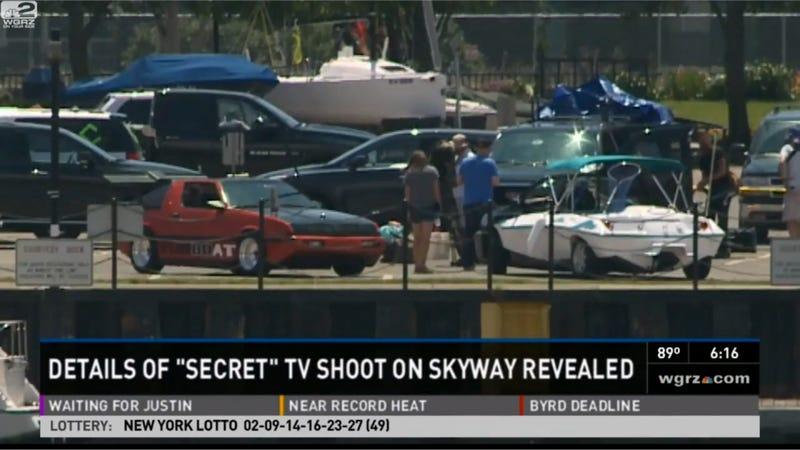 Top Gear USA Shuts Down Buffalo Skyway To Film An Amphibious Starion